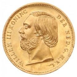 Koninkrijksmunten Nederland 10 gulden 1851 Negotiepenning