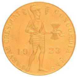 Koninkrijksmunten Nederland Gouden dukaat 1923