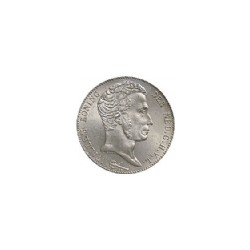 Koninkrijksmunten Nederland 3 gulden 1824 streepje