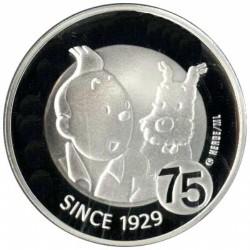 België 10 euro 2004 'Kuifje' - Aanbieding: van € 75,- nu tijdelijk voor: