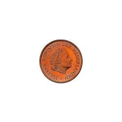 Koninkrijksmunten Nederland 5 cent 1980 haan met ster