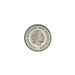 Koninkrijksmunten Nederland 25 cent 1963