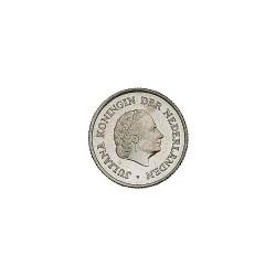Koninkrijksmunten Nederland 25 cent 1964