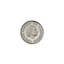 Koninkrijksmunten Nederland 25 cent 1966