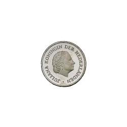 Koninkrijksmunten Nederland 25 cent 1967
