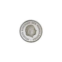 Koninkrijksmunten Nederland 25 cent 1972