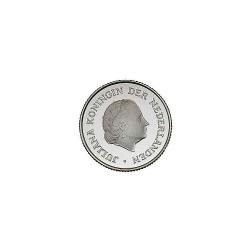 Koninkrijksmunten Nederland 25 cent 1973