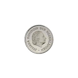 Koninkrijksmunten Nederland 25 cent 1975