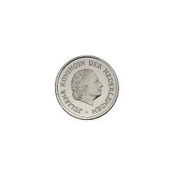 Koninkrijksmunten Nederland 25 cent 1977