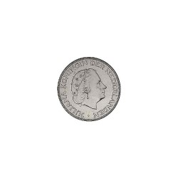 Koninkrijksmunten Nederland 2½ gulden 1969 vis