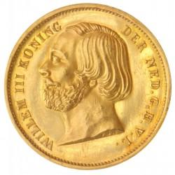 Koninkrijksmunten Nederland 20 gulden 1850 dubbele negotiepenning