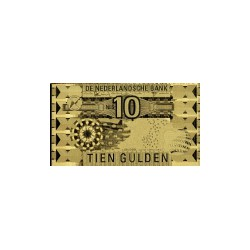 Nederland 10 Gulden 1997 'IJsvogel' in Goud
