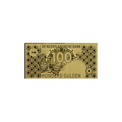 Nederland 100 Gulden 1992 'Steenuil' in Goud