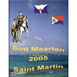 Sint Maarten blister 1c t/m 2 E 2005