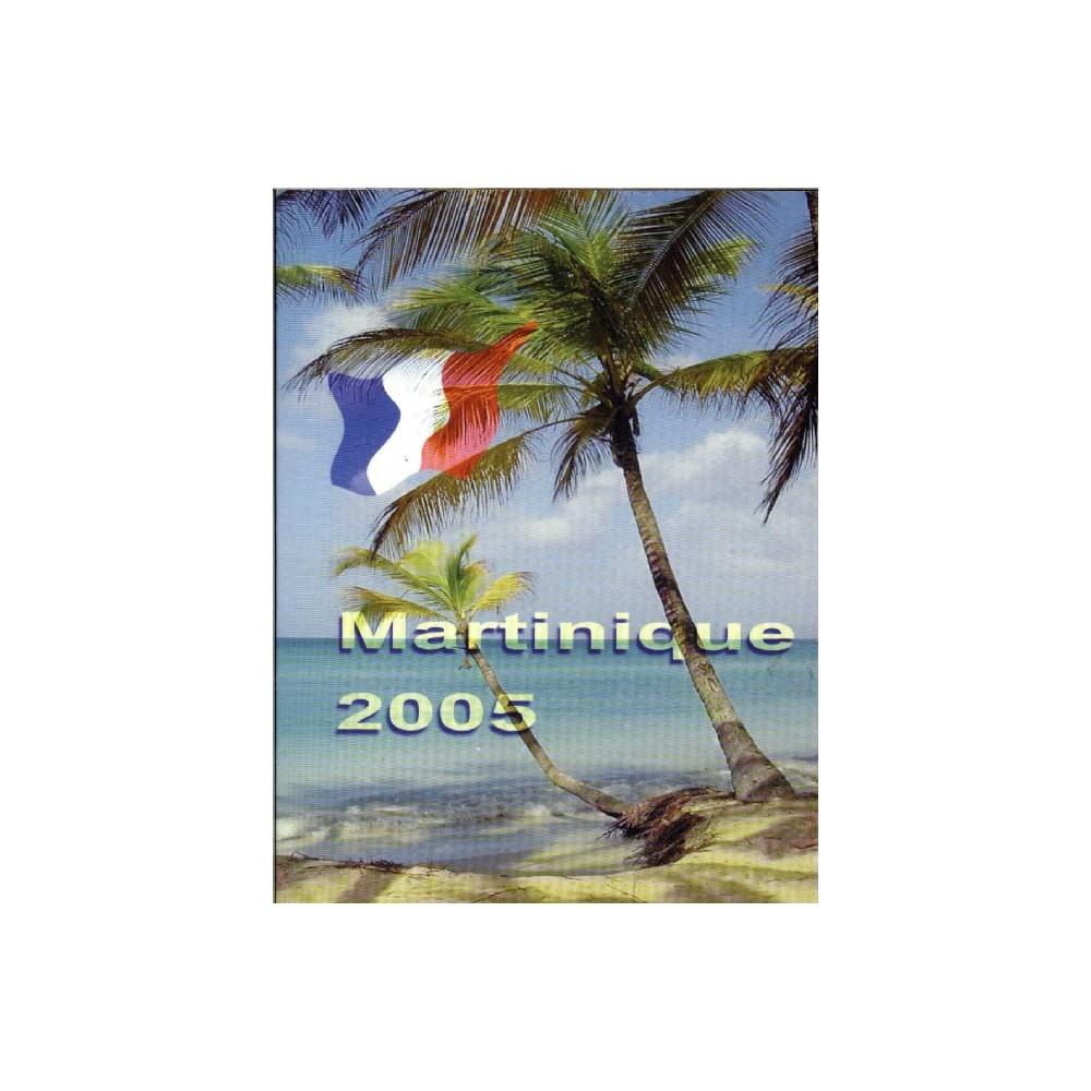 Martinique blister 1c t/m 2 E 2005
