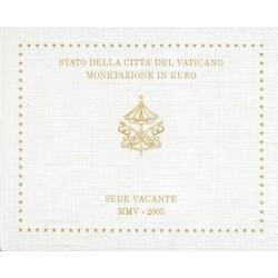 Vaticaan BU-Set 2005 Sede Vacante