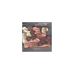 Ierland 2002 zakjes 1/2/5ct 100 munten in een zakje!