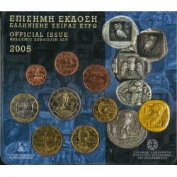 Griekenland BU-Set 2005