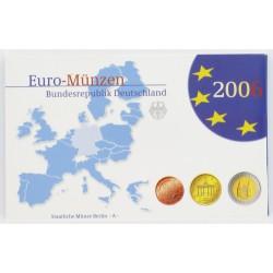 Duitsland serie Proofsets 2006 5 Proof-Sets Letters A, D, F. G, J