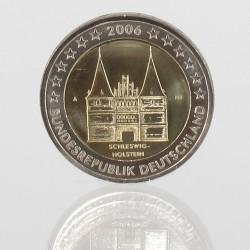 Duitsland 2 euro 2006 'Holstentor Lubeck' Willekeurige letter