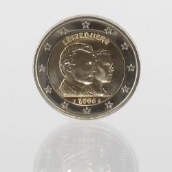 Luxemburg 2 euro 2006 'Groothertog Henri en erfopvolger groothertog Guilliaume'