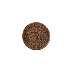 Nederlandse Antillen  2½ cent 1956