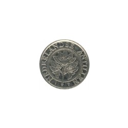 Nederlandse Antillen 25 cent 2002