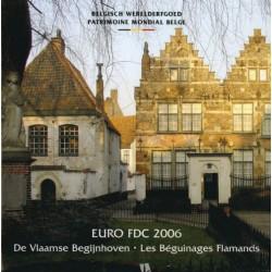 Belgie BU-Set 2006 met gekleurde penning
