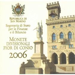 San Marino BU-Set 2006
