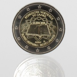 Duitsland  2 euro 2007 '50e verjaardag van het Verdrag van Rome' Willekeurige letter