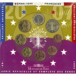 Frankrijk BU-Set 2007