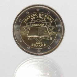 Spanje 2 euro 2007 '50e verjaardag van het Verdrag van Rome'