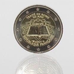 Frankrijk 2 Euro 2007 '50e verjaardag van het Verdrag van Rome'
