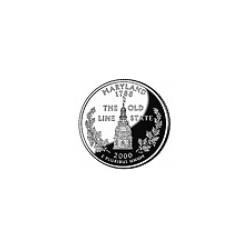 USA Quarter 2000 Maryland