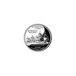 USA Quarter 2000 Virginia