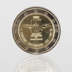 België 2 euro 2008 'Mensenrechten'