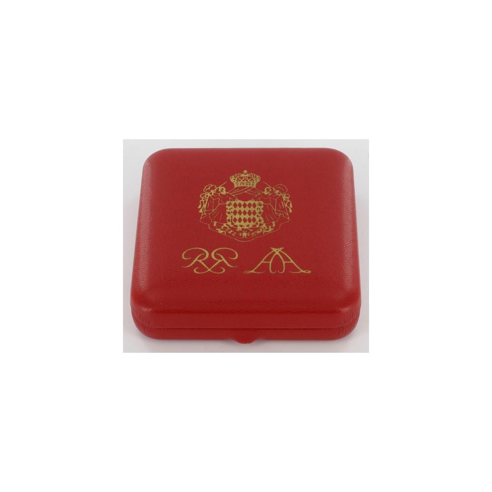 Monaco Proofset 2005 1,2 en 5 cent