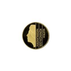Koninkrijksmunten Nederland 1 gulden goud 2001