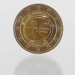 Slowakije 2 euro 2009 '10 jaar Economische en Monetaire Unie'