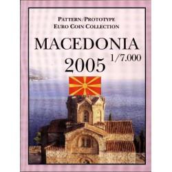 Macedonië blister 1c t/m 2 E 2005