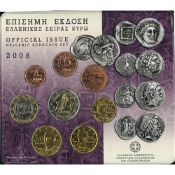 Griekenland BU-Set 2008
