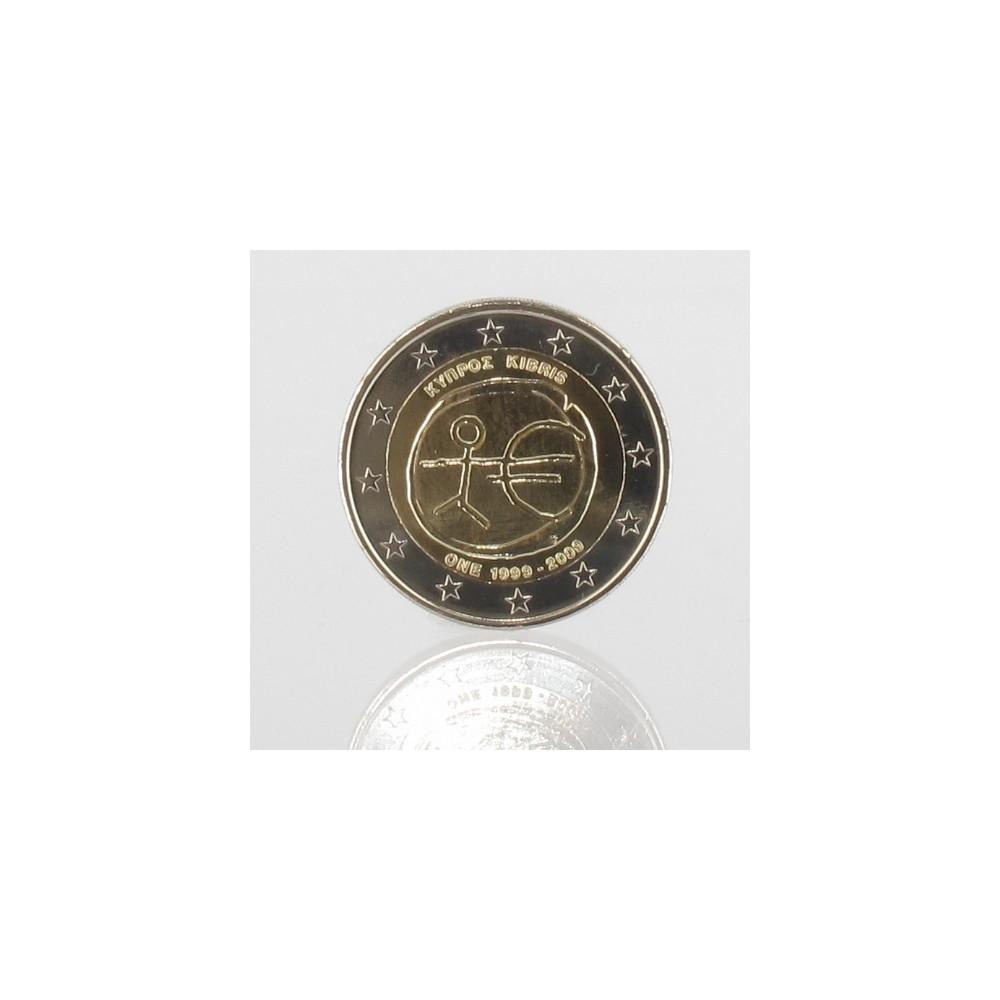 Cyprus 2 euro 2009 '10 jaar Economische en Monetaire Unie'