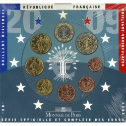 Frankrijk BU-Set 2009