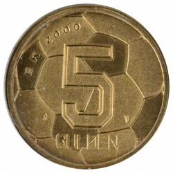 Koninkrijksmunten Nederland 5 gulden EK-Vijfje Met Klein Muntmeesterteken