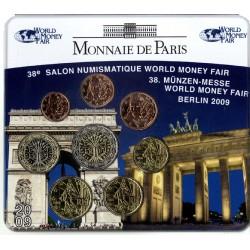 Frankrijk BU-Set 2009 ''World Money Fair Berlijn''