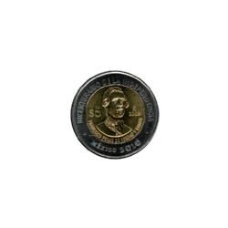 Mexico 5 Dollar 2010 Fransico Primp De Verdad Ramos ''Serie Helden van Mexico''
