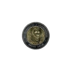 Mexico 5 Dollar 2010 Jose Maria Cos ''Serie Helden van Mexico''