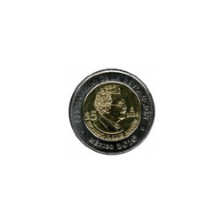 Mexico 5 Dollar 2010 Ricardo Flores Magon ''Serie Helden van Mexico''