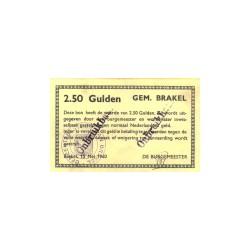 Brakel 2½ gulden