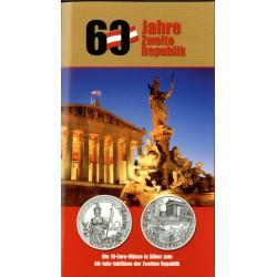 Oostenrijk 10 euro 2005 ''60 Jaar Tweede Republic''